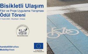 Bisikletli ulaşım proje ödülleri sahiplerini buluyor