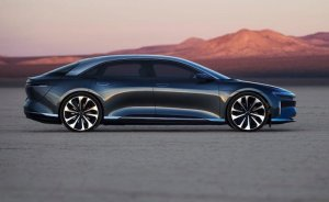Lucid Motors yeni elektrikli sedan modelini tanıttı