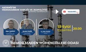 Maden MO Akdeniz hidrokarbonlarını konuşacak