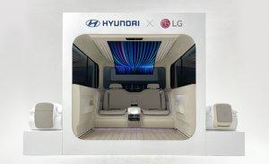 LG ve Hyundai'den elektrikli araçta konfor arayışı