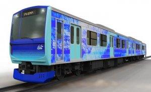 Japonya'da hidrojen yakıtlı hibrit tren geliştiriliyor