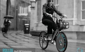 Havayı temizleyen bisiklet tekeri geliştirildi