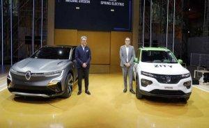 Renault iki yeni elektrikli otomobilini tanıttı