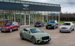 Bentley'in tüm araçları 10 yılda elektrikli olacak