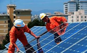 Avrupa'nın güneşte kurulu kapasitesi yüzde 13 artacak