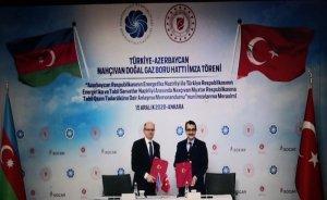 Nahçıvan'a Türkiye üzeri gaz tedariki için yeni hat kurulacak
