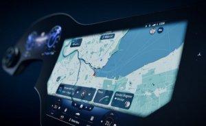 Mercedes-Benz'den yapay zekalı elektrikli araç ekranı