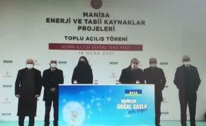 Aksa, Soma ve Kırkağaç'a doğal gaz ulaştırdı