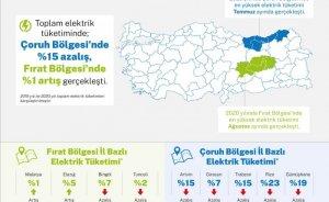 Doğu Karadeniz'de elektrik tüketimi azaldı