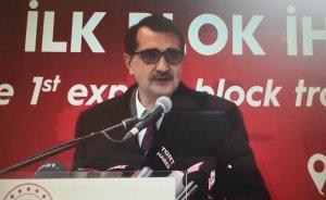 Türkiye'nin bor treni Çin'e uğurlandı