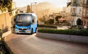 Karsan Romanya'ya 10 elektrikli küçük otobüs teslim etti