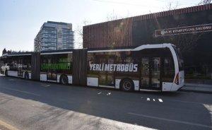 Türkiye'nin ilk yüzde yüz yerli metrobüsü Ankara'da