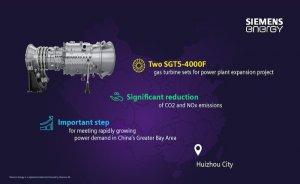 Siemens'ten Çin'e gaz türbini tedariği