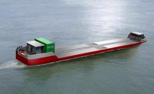 İlk hidrojenli kargo gemisi Paris'te faaliyete geçiyor