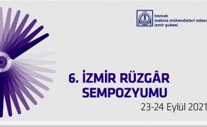 6. İzmir Rüzgâr Sempozyumu 23-24 Eylül 2021'de