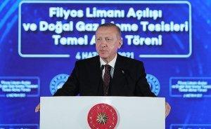 Erdoğan: Karadeniz'de 135 milyar m3 doğal gaz keşfedildi