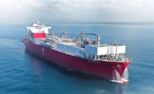 Ertuğrul Gazi'ye ilk LNG yakıt ikmali başladı