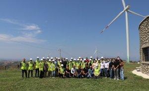 Meslek Lisesi öğrencilerine Rüzgar Türbin Teknolojisi Eğitimi verildi