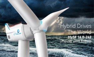 Dünyanın en büyük açıkdeniz rüzgar türbini Çin'de