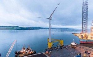 İskoçya'daki yüzer RES şebekeye elektrik vermeye başladı