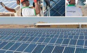 Türkiye'nin en büyük güneş enerji santrali Gaziantep'te