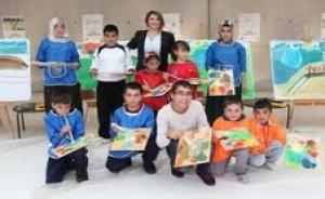 BTC Boru Hattı çocukları sanatla buluştu