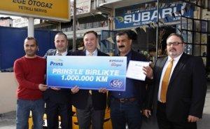 LPG`li motorla 1 milyon kilometre!