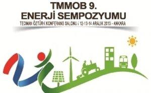 9. Enerji Sempozyumu 12 Aralık'ta başlıyor