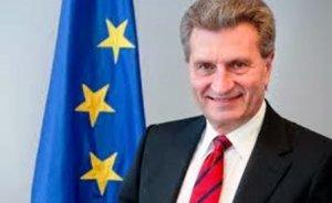 Öttinger: AB Akdeniz'de enerji işbirliğinde kararlı