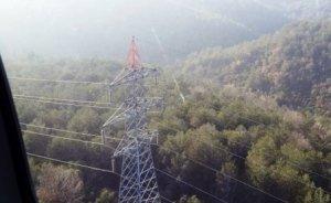 Enerji nakil hatlarına havadan bakım onarım