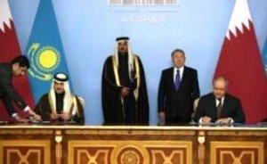 Kazakistan ile Katar işbirliği anlaşması imzaladı
