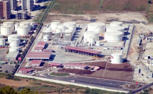 KKTC`de enerji depolama bölgesine tepki