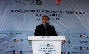 BOTAŞ Mucur doğalgaz kompresör istasyonu açıldı