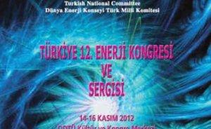 Türkiye 12. Enerji Kongresi ve Sergisi 14-16 Kasım`da