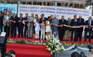 Dora 3 JES Aydın'da devreye alındı