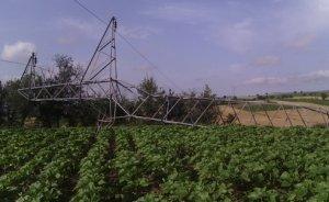 Aşırı yağış ve rüzgar Samsun`da 480 köyü elektriksiz bıraktı