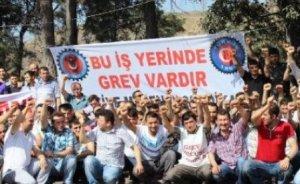 Tunçbilek`te kömür işçileri greve gitti