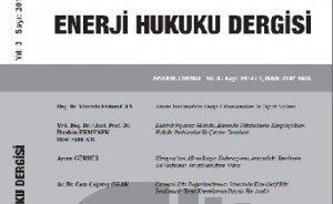 Hakemli enerji hukuku dergisi
