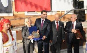 Opet Tarihe Saygı Ortaokulu törenle açıldı