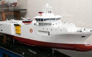 Barbaros Hayrettin sismik araştırma gemisinin yapımına başlandı