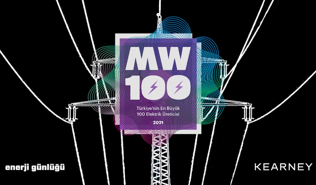 MW100 2021:TÜRKİYE'NİN EN BÜYÜK 100 ELEKTRİK ÜRETİCİSİ BELLİ OLDU