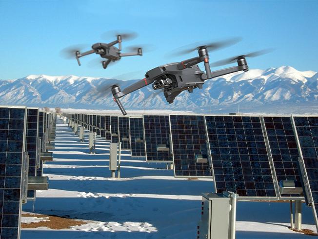 Enerji santralleri dronla tasarruf edecek